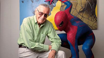 Lifesized Model der Firma Muckle Mannequins mit Comik-Ikone Stan Lee
