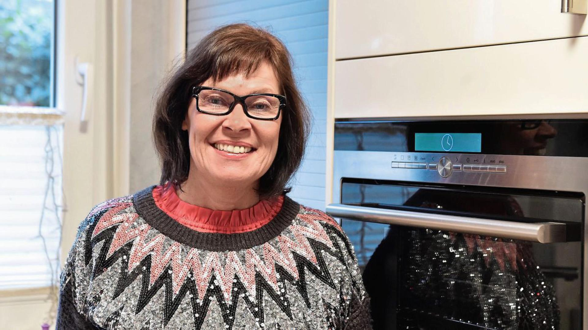 """""""Jeder hat gesagt: Du bist mutig"""", sagt Andrea Sonnenmoser (53) aus Leopoldshafen über die Reaktionen, als sie gesagt hat, dass sie bei der TV-Kochshow """"Das perfekte Dinner"""" mitmacht."""