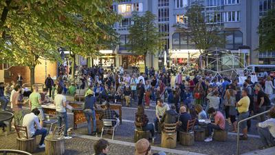 "Kulturfestival ""Elephantß castle"" des Vereins ""die anstoß"" am Kronenplatz Karlsruhe 2018"