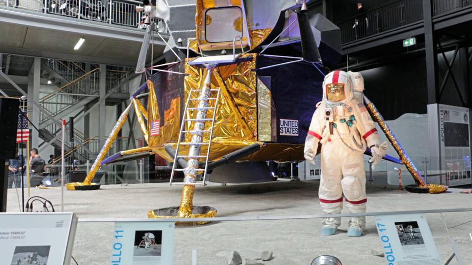 Ein großer Schritt für die Menschheit: Die Mondlandung kann der Gewinner oder die Gewinnerin im Speyer Muesum nachgestellt erleben.