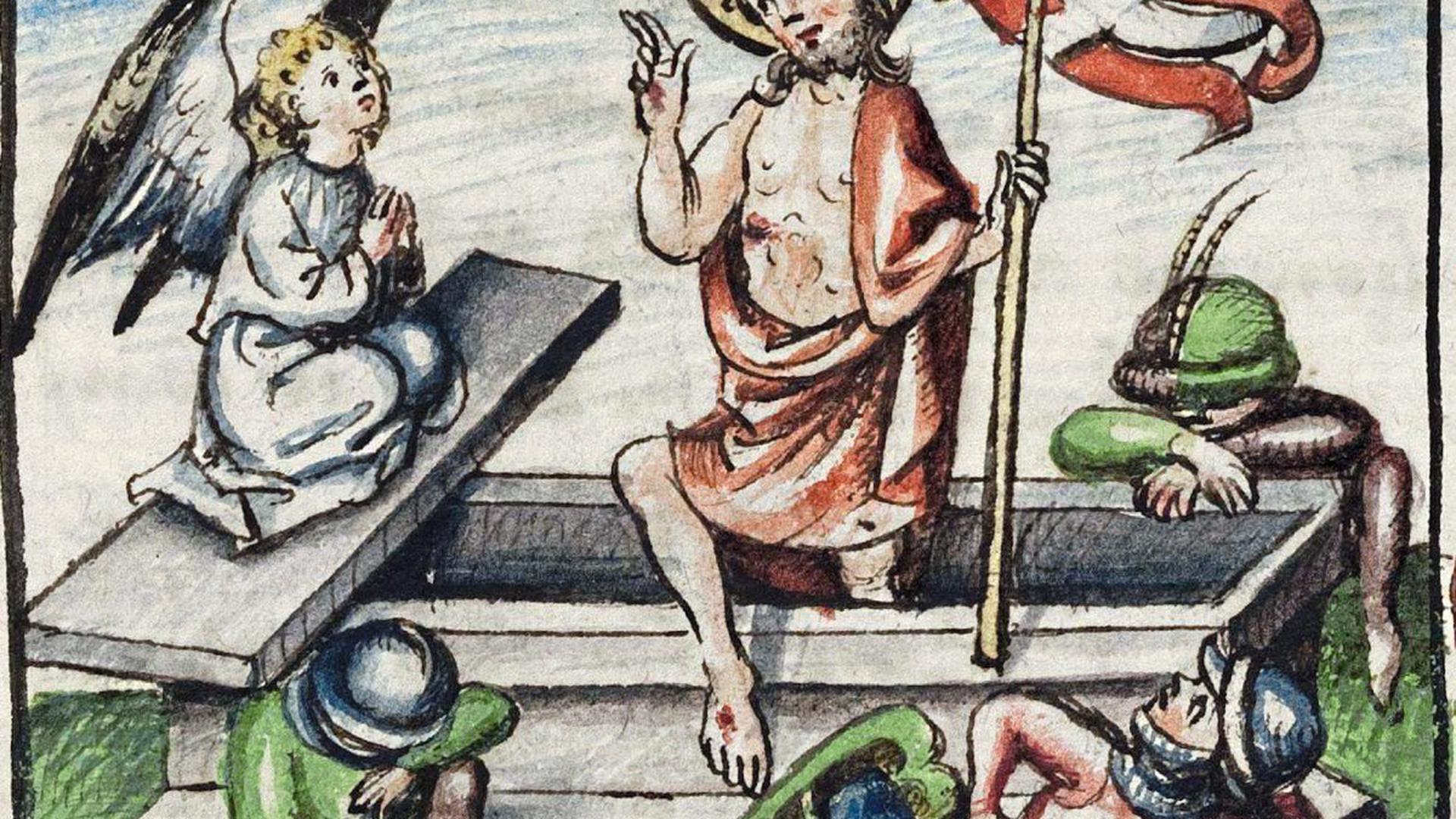 In einer Sammelhandschrift sind in der Landesbibliothek Karlsruhe die Arbeiten der Schwester Regula einsehbar.