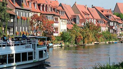 die Fischersiedlung Klein-Venedig in Bamberg