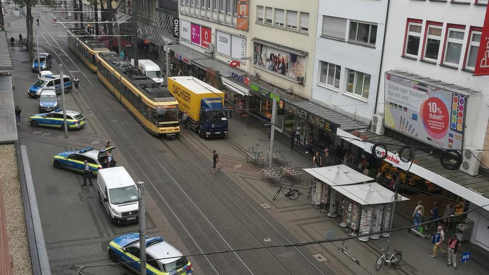 Am Mittwochvormittag konnte ein Raubüberfall auf eine Bankfiliale in der Karlsruher Kaiserstraße vereitelt werden.