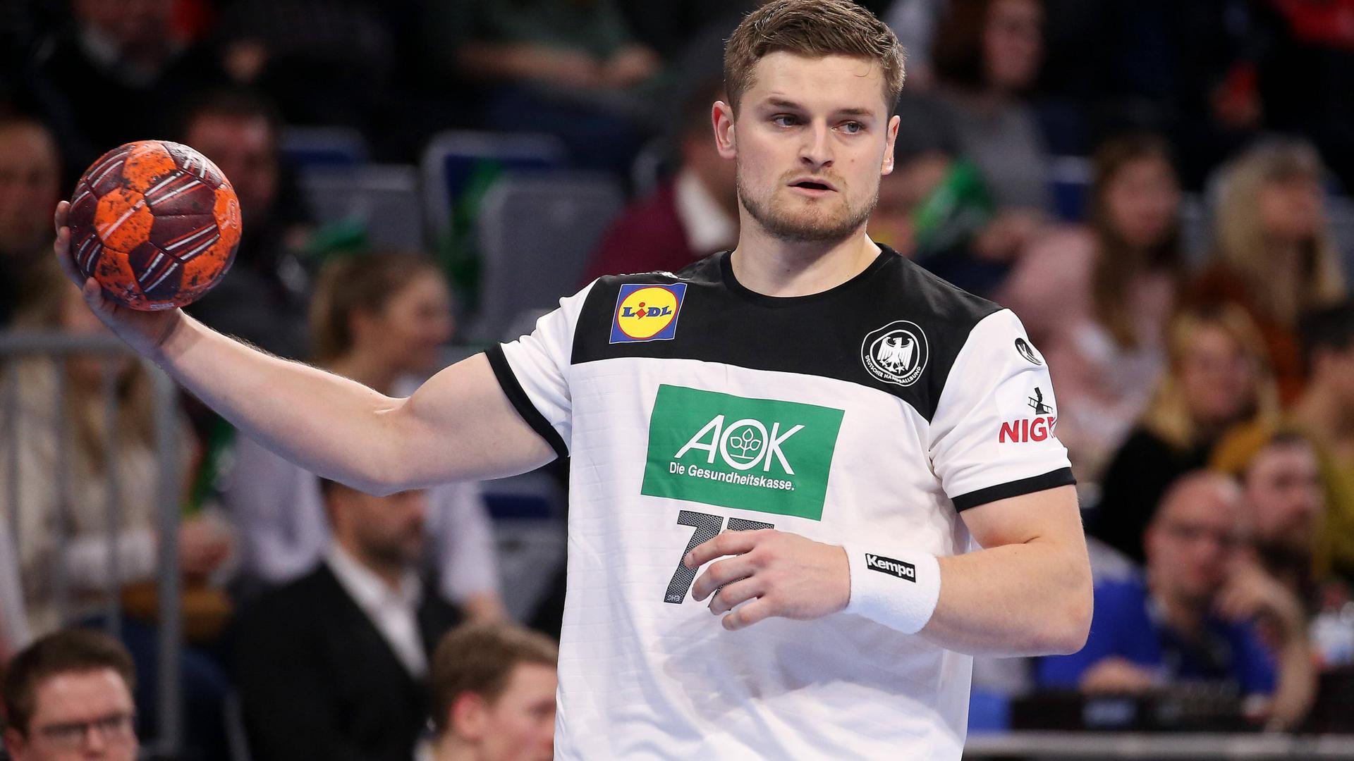 Alles im Griff: Der 26 Jahre alte Karlsruher soll im rechten Rückraum für Impulse sorgen.