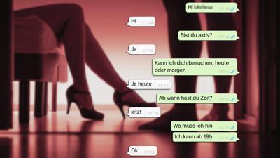So einfach ist es, sich trotz Corona-Verboten in Karlsruhe mit einer Prostituierten zu verabreden.