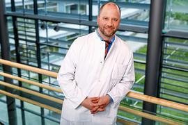 Schlafmediziner Matthias Berger, Klinikum Karlsruhe.