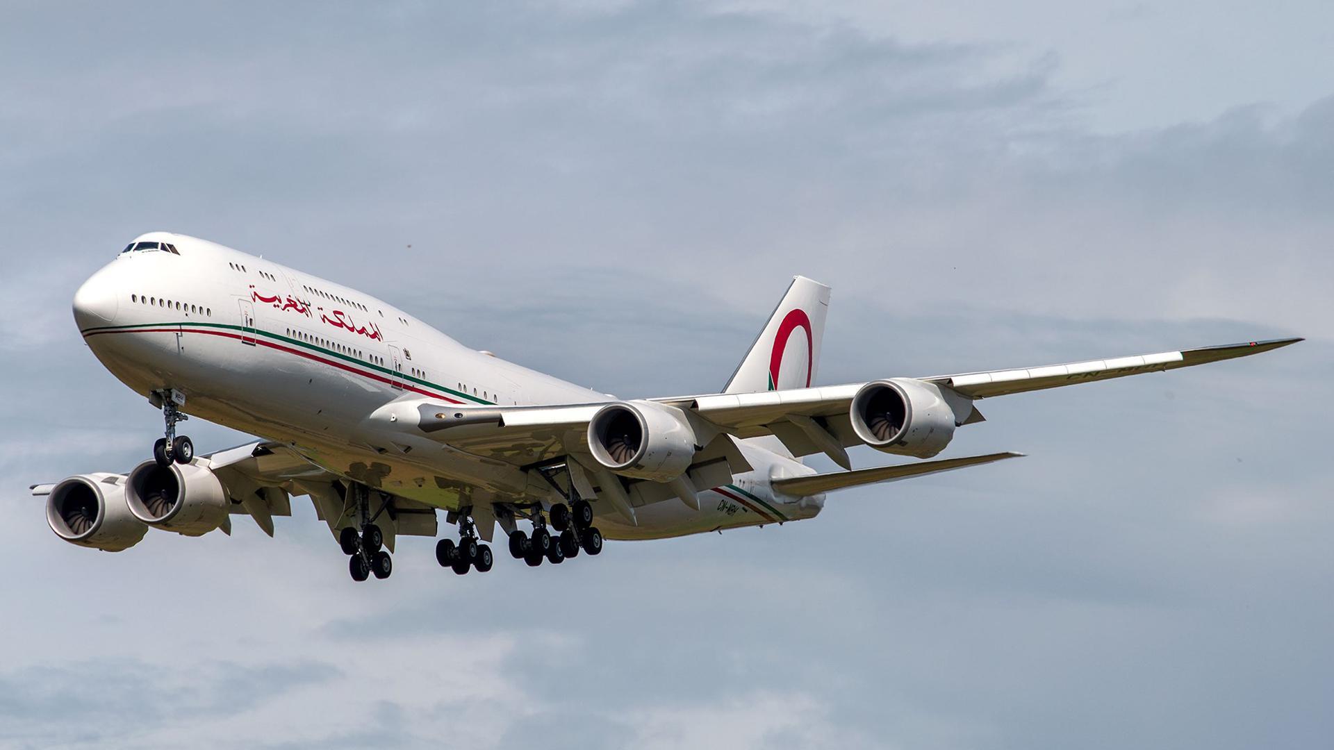 Boeing 747 800 Marokko zu Testflügen am Baden-Airpark