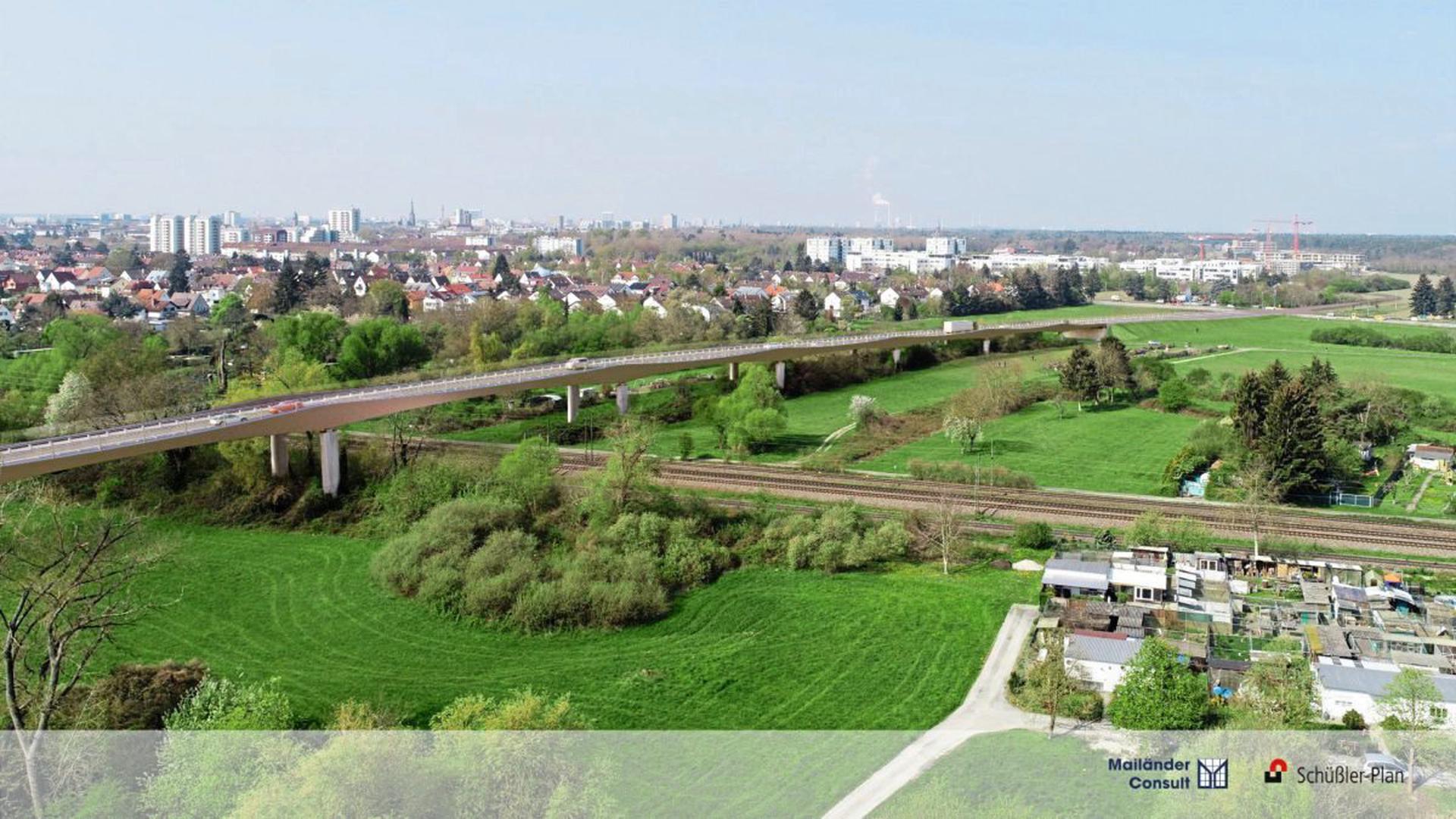 Die Brücke Karlsruhe