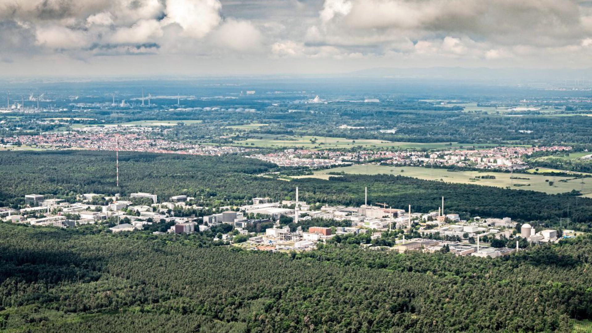 Der Campus Nord liegt in Eggenstein-Leopoldshafen.