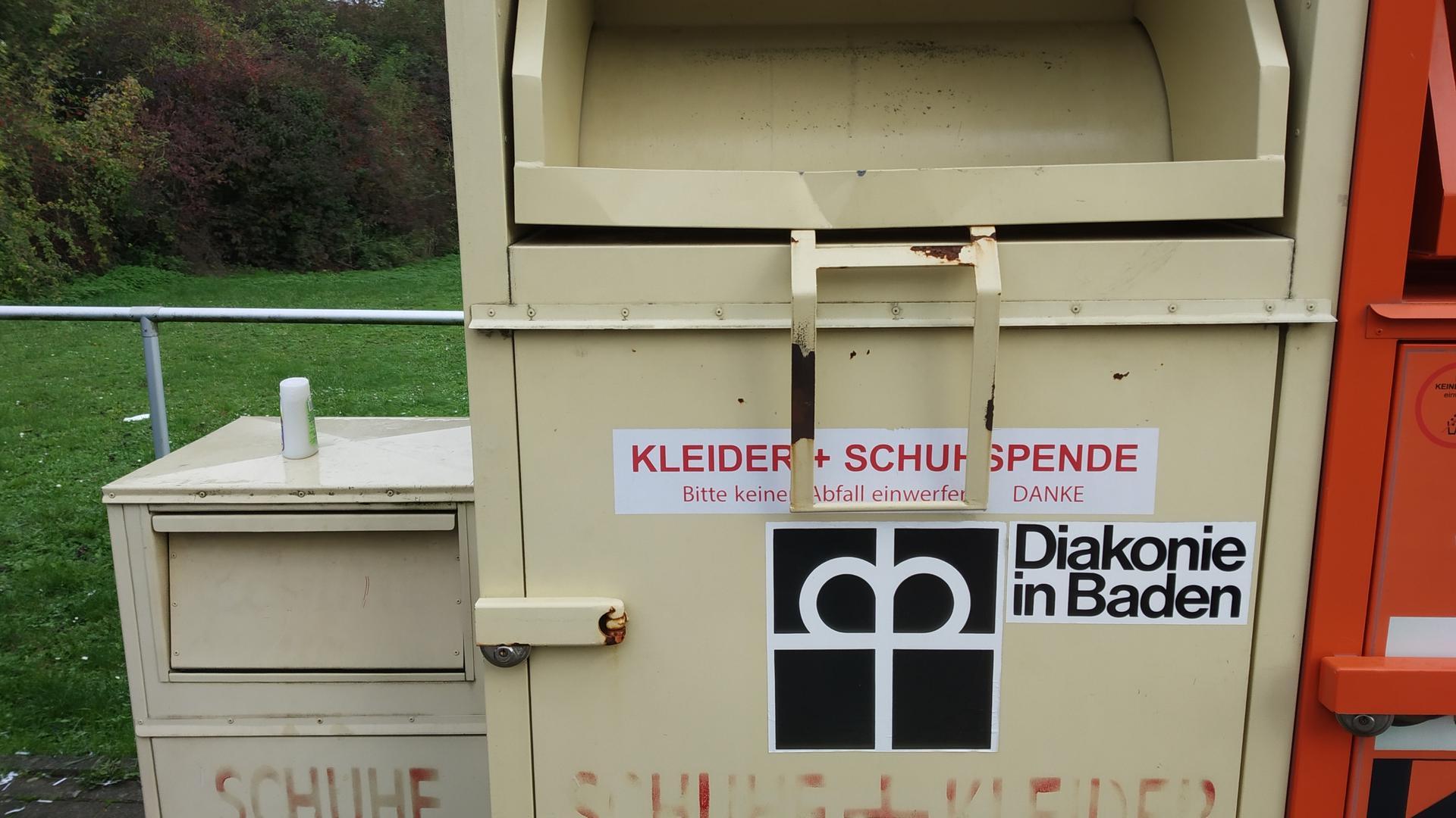 Altkleidercontainer Pforzheim