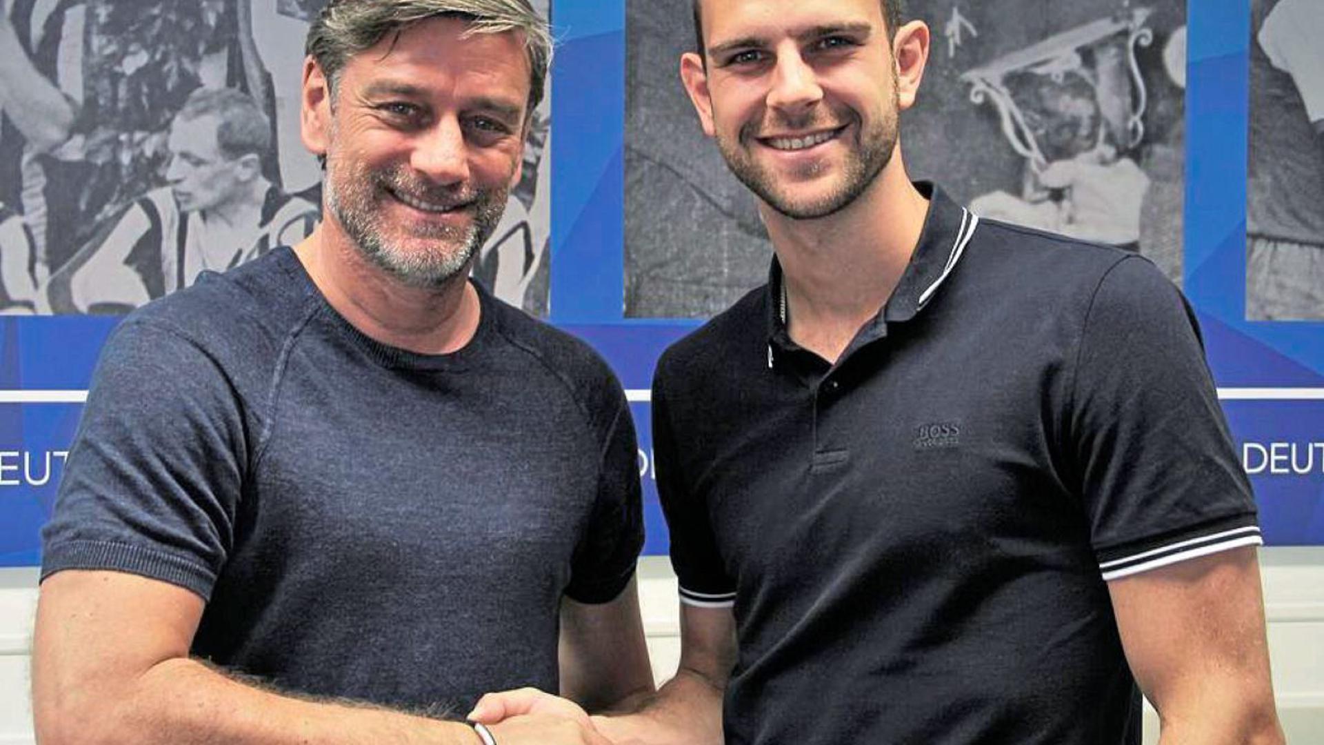 Der Karlsruher SC hat am Freitagnachmittag seinen fünften Neuzugang für die Saison 2019/2020 präsentiert. Torhüter Marius Gersbeck wechselt von Hertha BSC Berlin nach Baden, er erhält zunächst einen Vertrag bis 2021.
