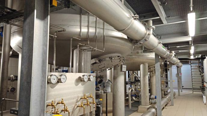 Viele Millionen Euro hat der Einbau der Filteranlage gekostet.