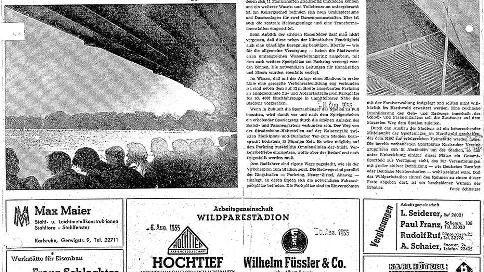 BNN, Ausgabe 5. August 1955.