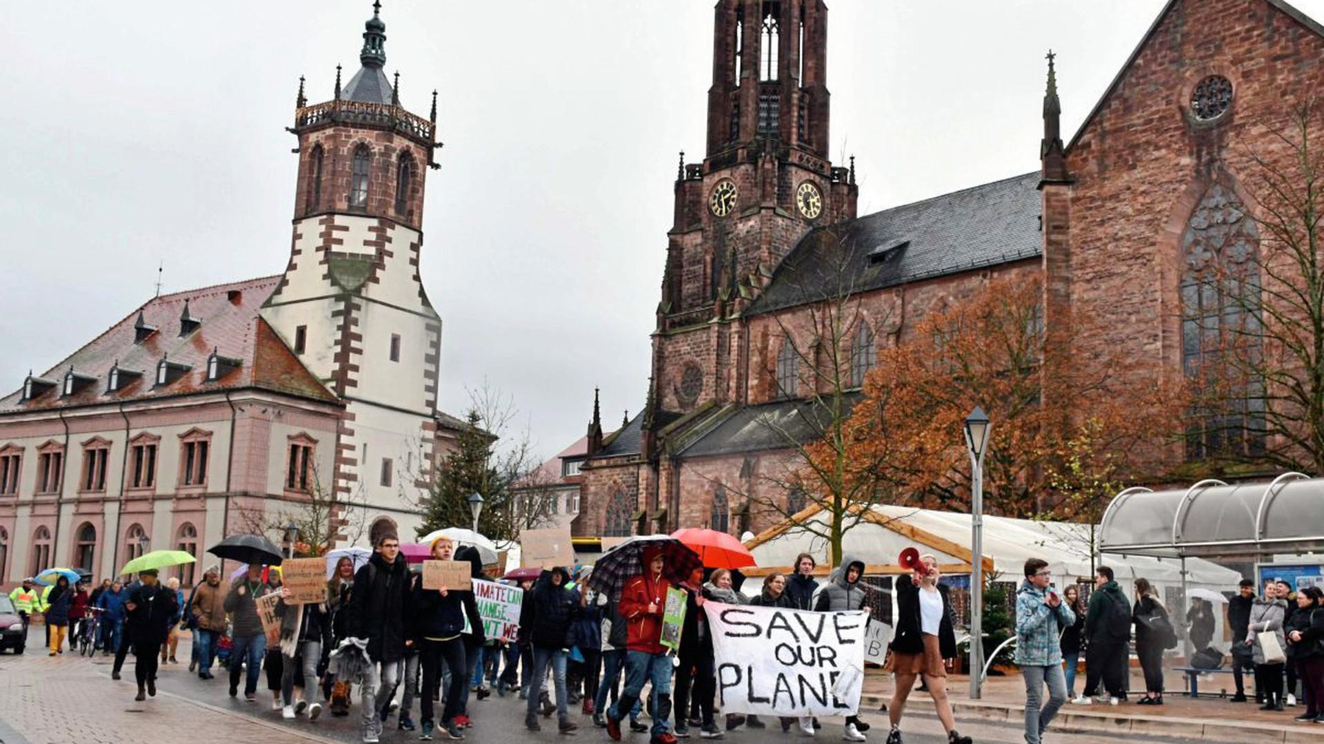 Fridays-for-Future in Bühl