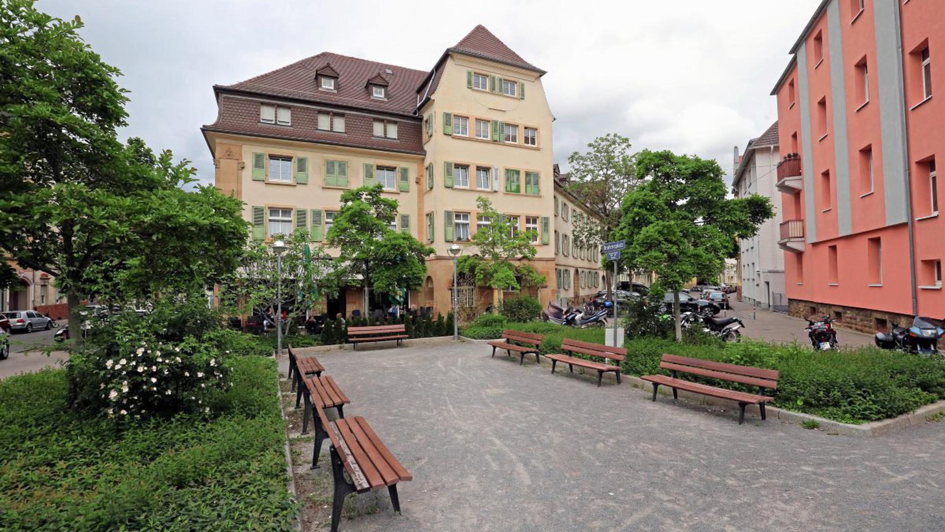 Brahmsplatz Karlsruhe
