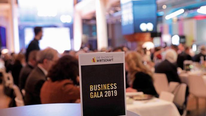 Die Business-Gala fand erstmals im ZKM statt,