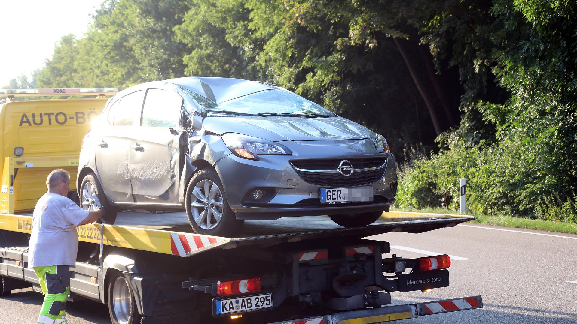 Karlsruhe Unfall Heute