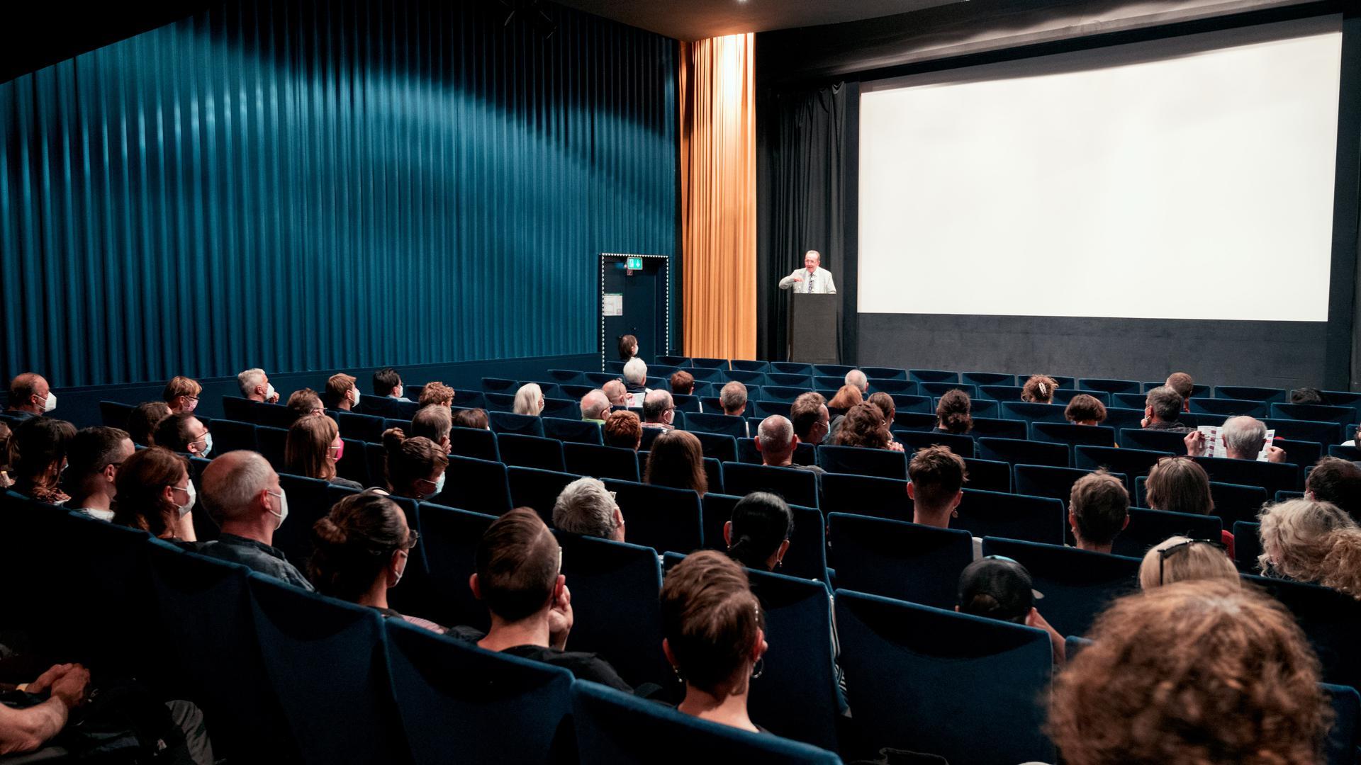 "Eröffnung des Karlsruher Dokumentarfestivals ""dokKa"" am 14.9.2021"