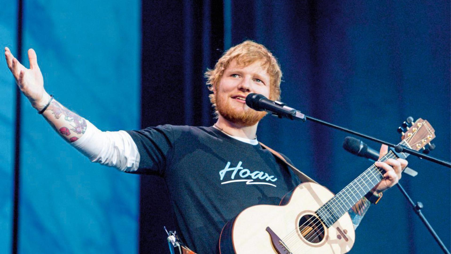 Ed Sheeran am Hockenheimring