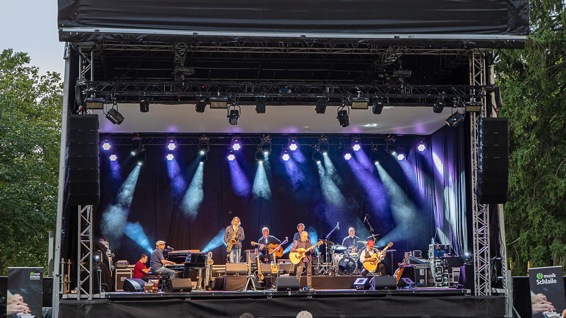 Konzert auf Bühne
