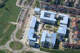 Fläche neue Stadtmitte Rheinstetten  Zentrum Rösselsbrünnle