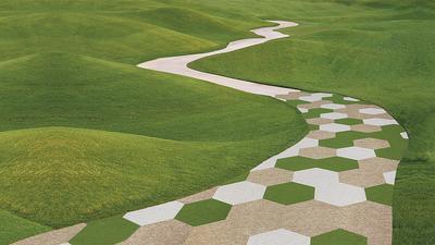 Weltweit gefragt: Nadelvlies-Bodenbeläge von der Firma Findeisen in Ettlingen. Sie gelten ans besonders belastbar und werden mit nachwachsenden Rohstoffen produziert.