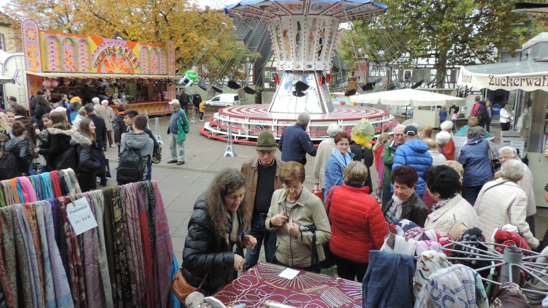 Kerwe-Markt Langensteinbach