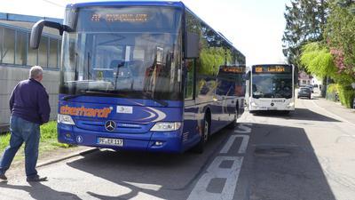 Das Busunternehmen Eberhardt übernimmt ab sofort zusammen mit RVSdie Linien aus Richtung Pforzheim über Straubenhardt zum Bahnhof in Ittersbach.