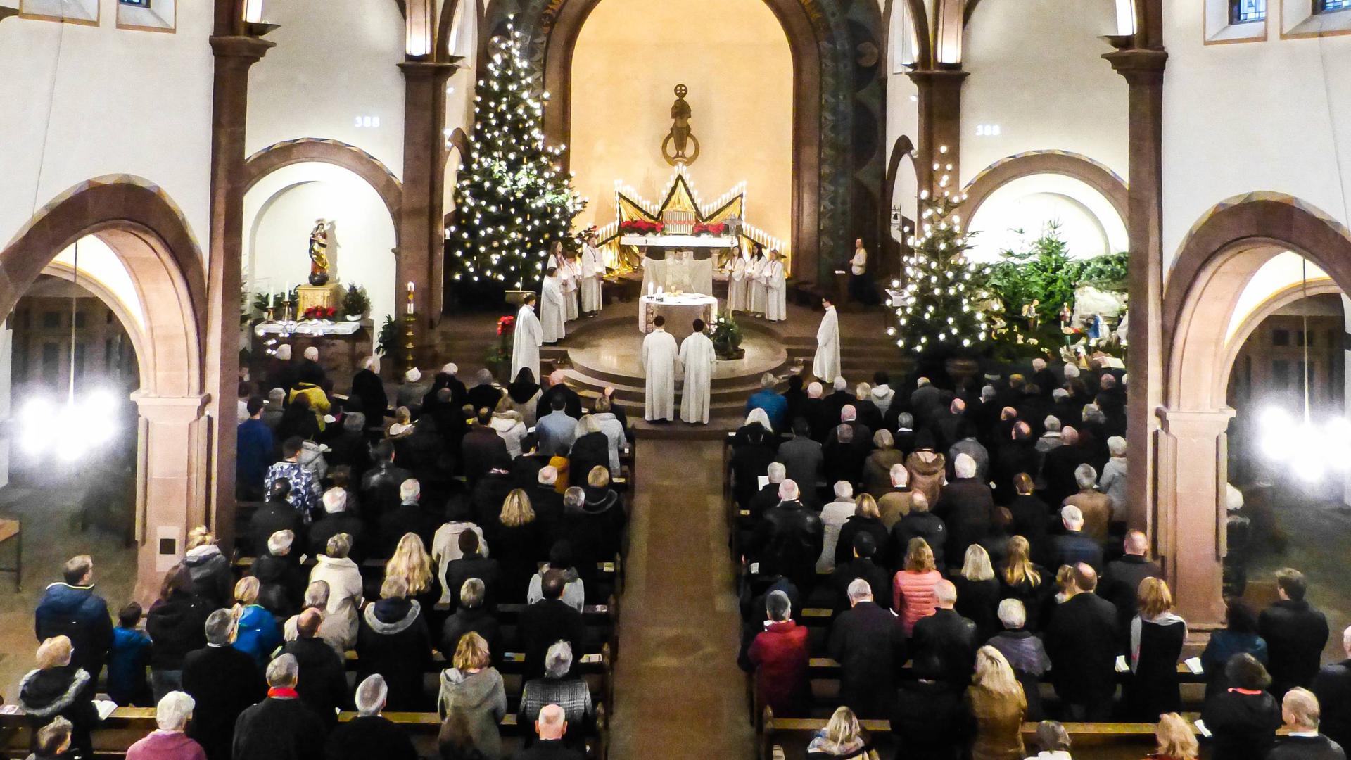 Weihnachtsgottesdienst in der Busenbacher Kirche