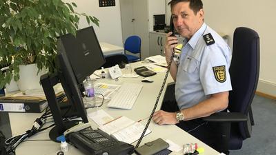 Joachim Zwirner, Leiter Verkehrsreferat im Polizeipräsidium Karlsruhe
