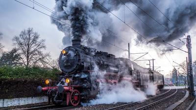 Dampfzugfahrten Albtal