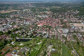d Luftbilder Fabry  Ettlingen und STadtteile