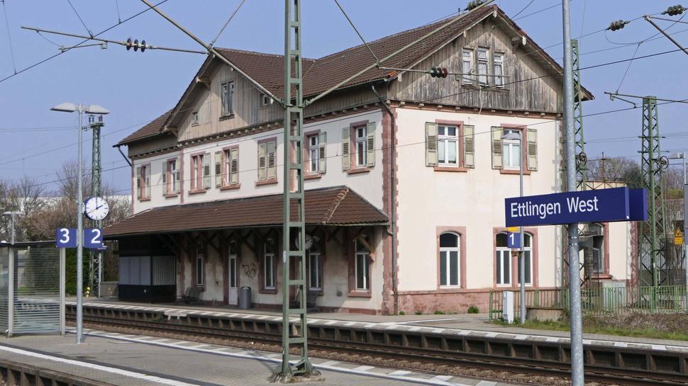 Bahnhof Ettlingen-West