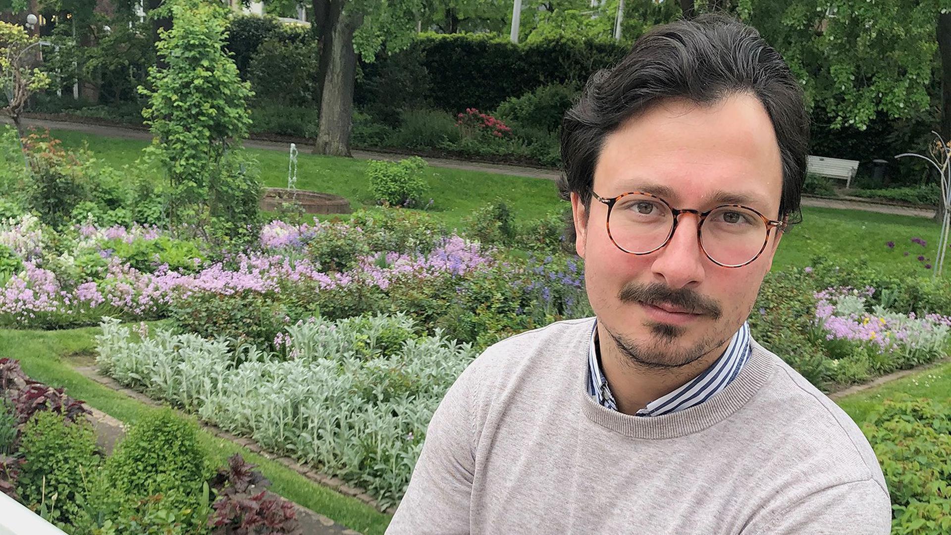 Sebastian Dahnert aus Ettlingen, Proband in der Impfstoff-Studie des Tübinger Unternehmens Curevac