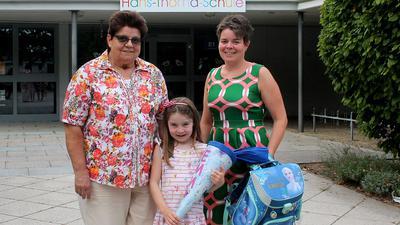 Drei Generationen vor Schule