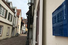 Punkt Nummer 14: In der Färbergasse in Ettlingen lebten einst jüdische Familien.