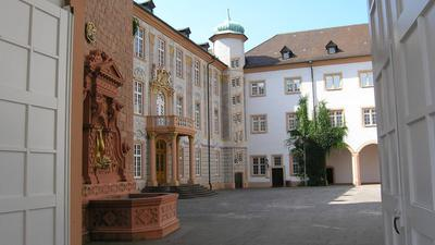 Schlosshof in Ettlingen