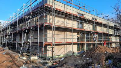 Baustelle Gebäude