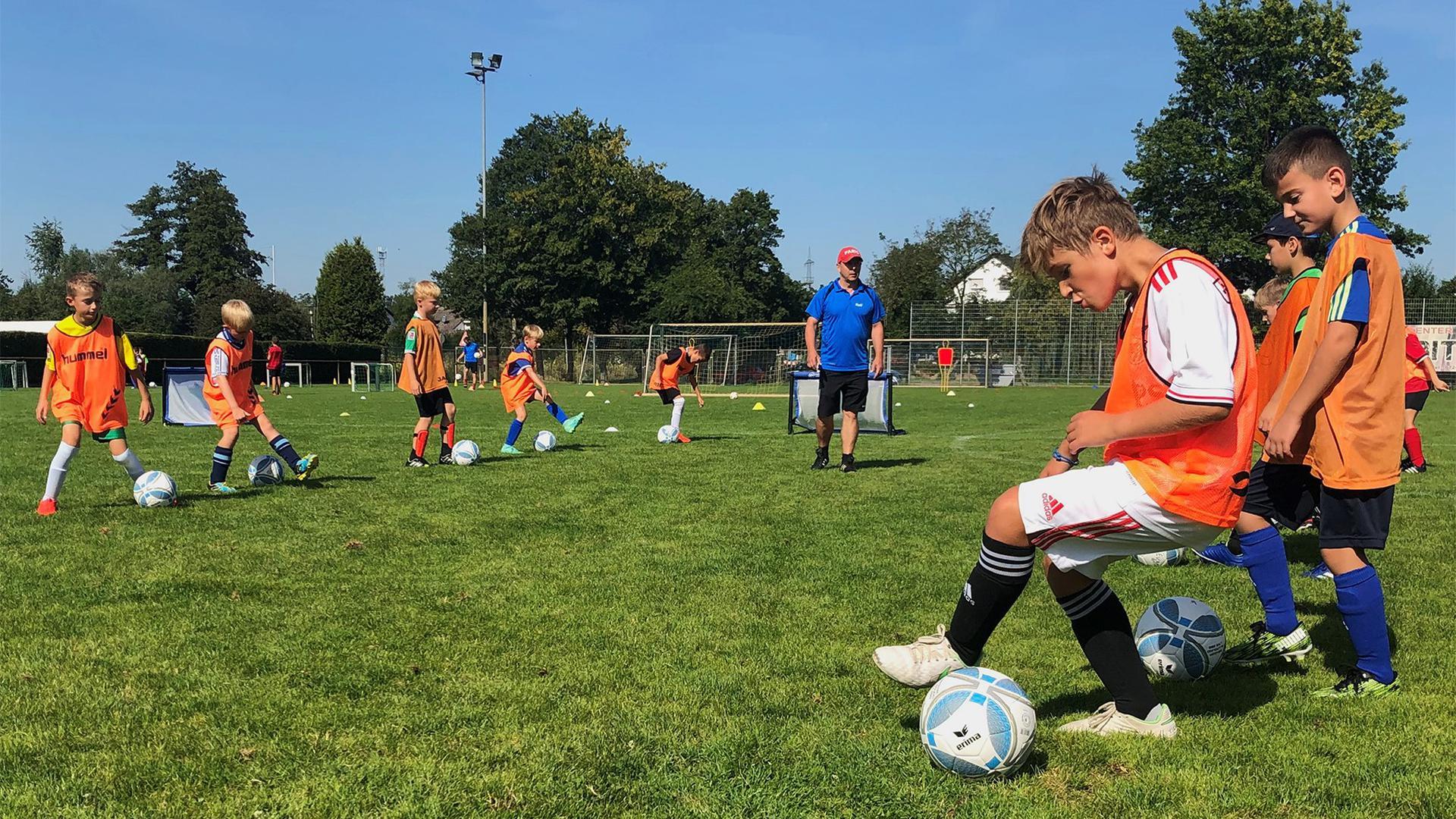 Fußballtraining Kinder