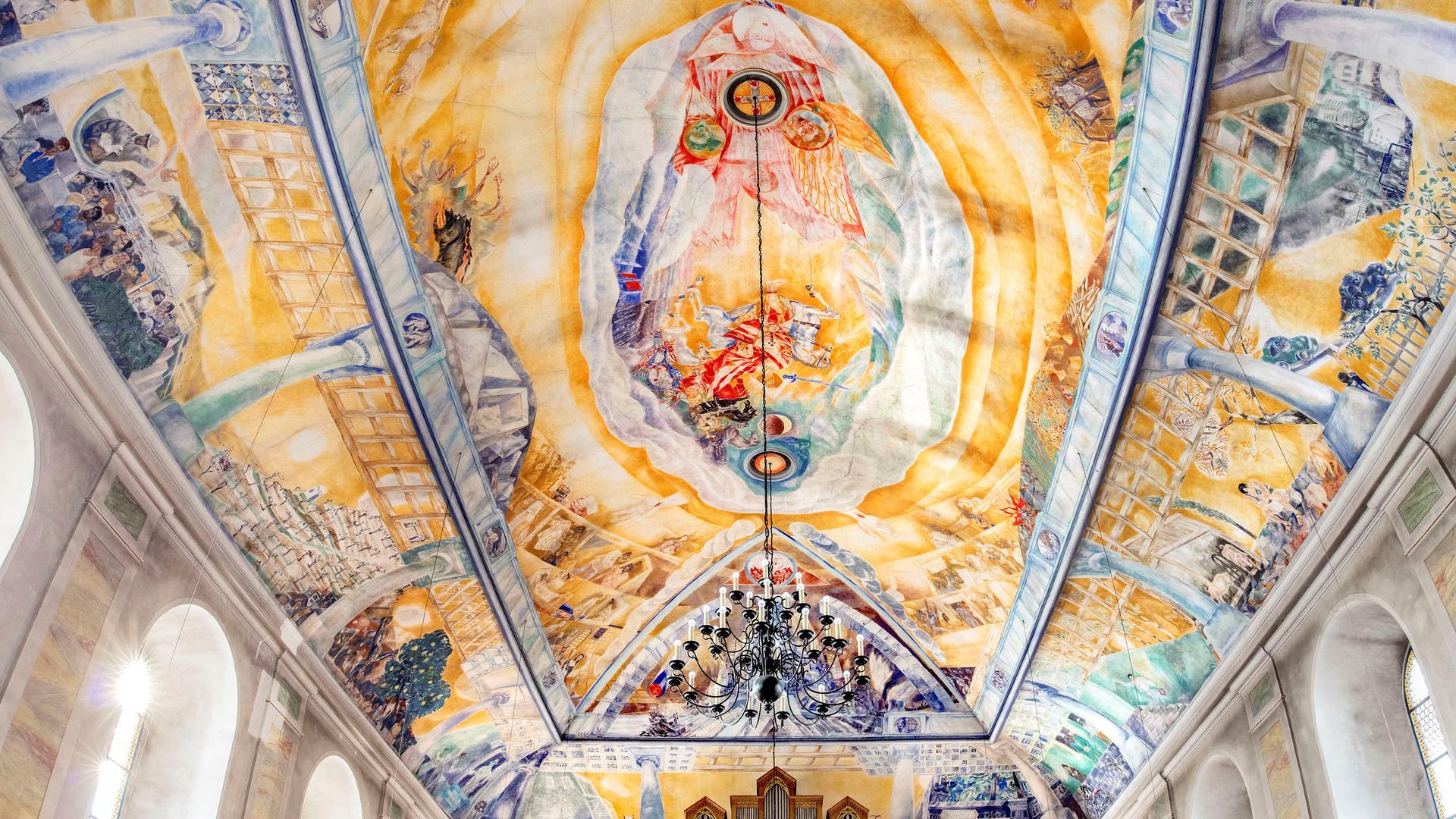 Deckengemälde Kirche