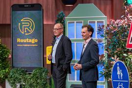 Warben im TV für ihre Geschäftsidee: Gerd Güldenpfennig (links) und Stefan Siebert von der Firma Routago aus Ettlingen.
