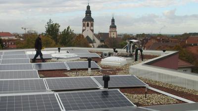 Fotovoltaikanlagen auf Dach
