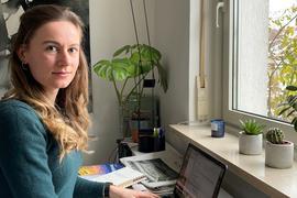 Studentin Annika Schleithoff