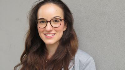 Alena Trauschel, 21-jährige Studentin aus Ettlingen, bewirbt sich für die FDP um ein Landtagsmandat.