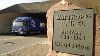 Wattkopftunnel Ettlingen