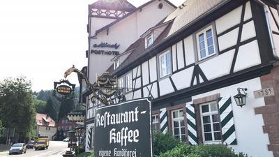 Restaurant Schild und Eingang