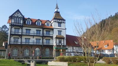 Auch nach 20 Jahren Stillstand gibt es keine Aussichten auf eine baldige Wiedereröffnung von Mönchs Posthotel im Herzen der Kurstadt Bad Herrenalb.