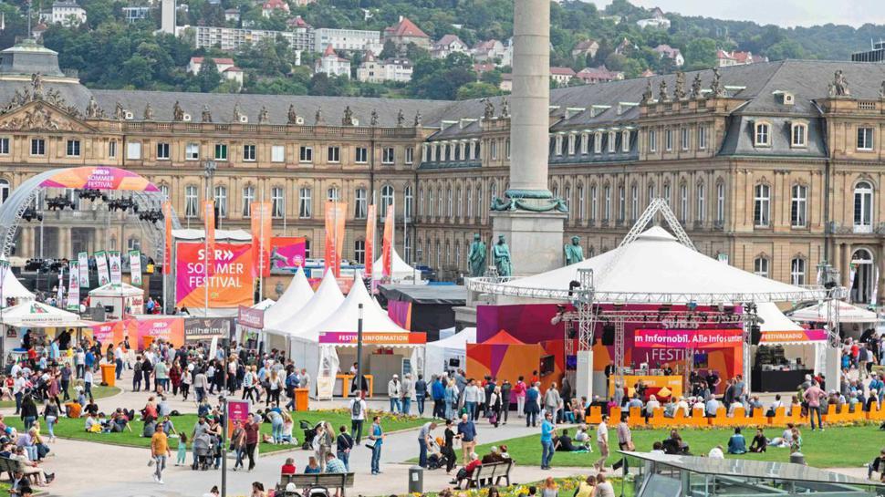 Um 16 Uhr beginnt am Freitag in Stuttgart das SWR-Sommerfestival.