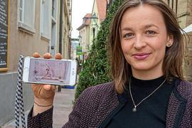 Victoria Engelhardt, aufgewachsen in Ettlingen, lebt heute in Berlin und ist Geschäftsführerin von Keleya – einem App-basierten Gesundheitscoach für Schwangere.