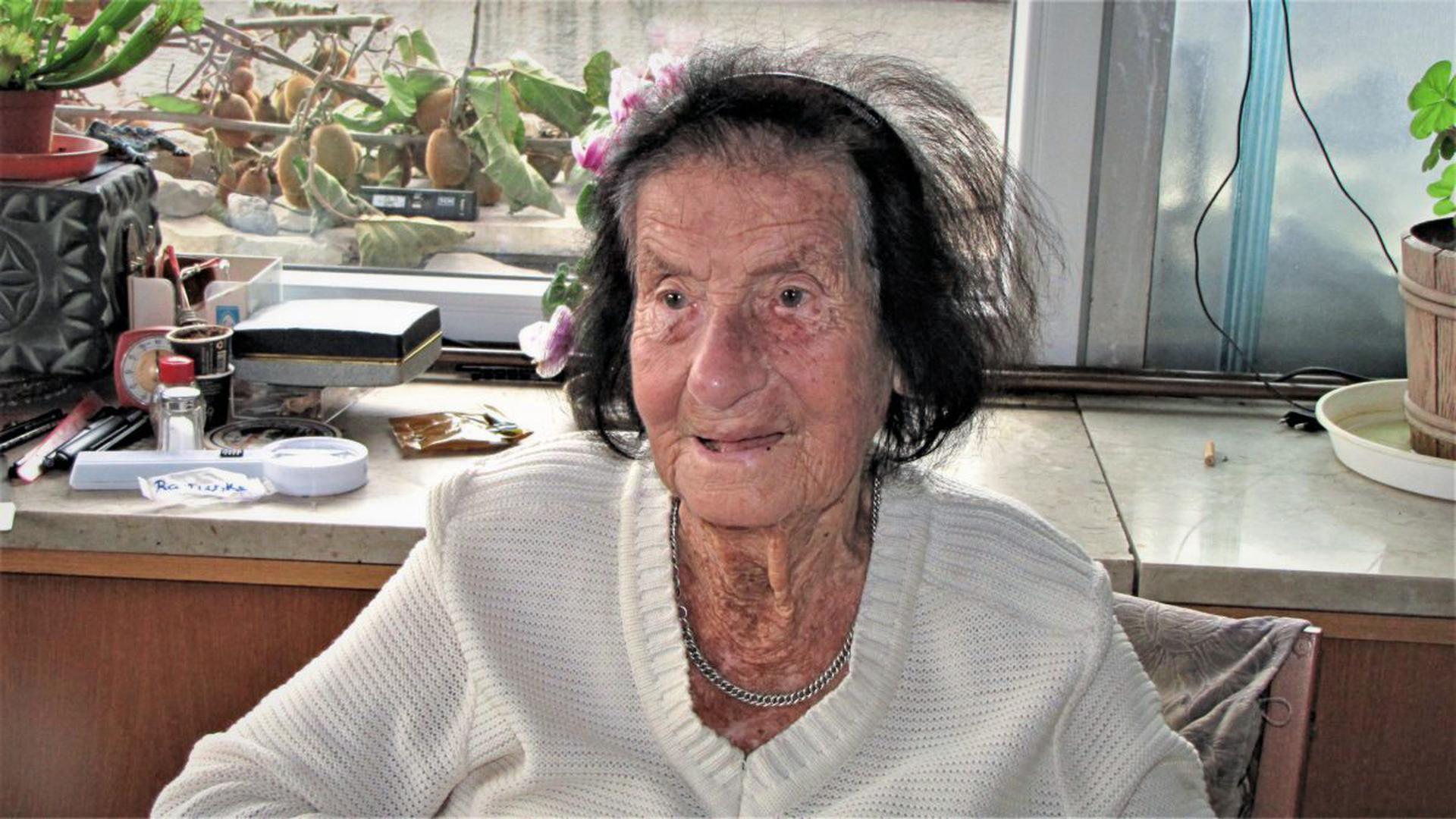 Die älteste Bürgerin Ettlingens ist gestorben: Unser Bild zeigt Charlotte Feigel an ihrem 110. Geburtstag am 9. Dezember 2019.